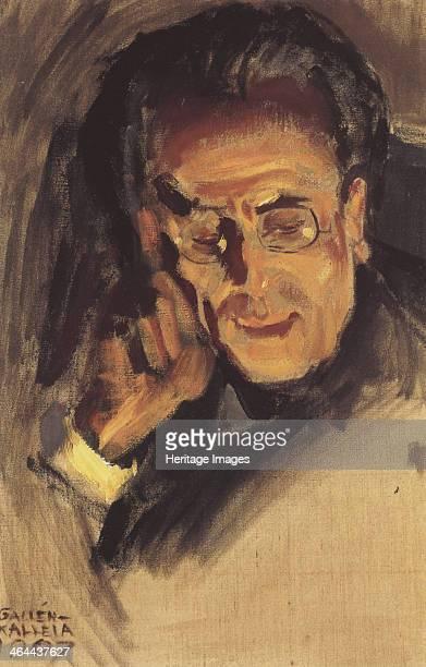 Portrait of Gustav Mahler 1907 Found in the collection of the Mänttä Gösta Serlachius Art Foundation
