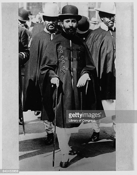 Portrait of Haile Selassie Emperor of Ethiopia