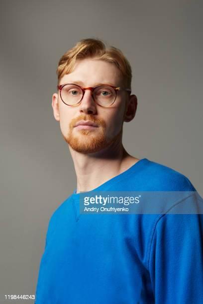 portrait of handsome man - スウェットシャツ ストックフォトと画像