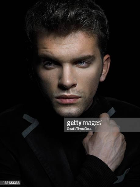 Porträt von gut aussehenden jungen Mann