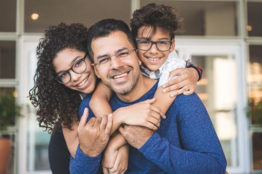 Portrait of happy family 1080910908