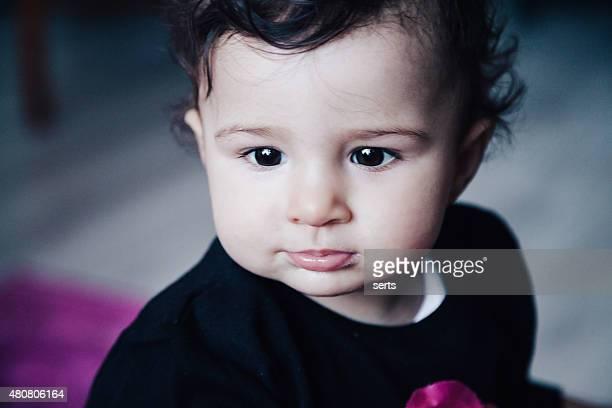 Porträt von glücklichen kleinen baby