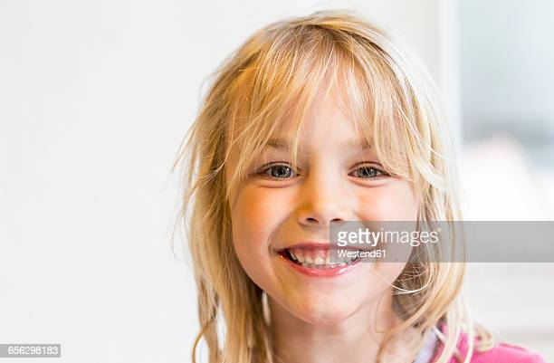 Portrait of happy little girl