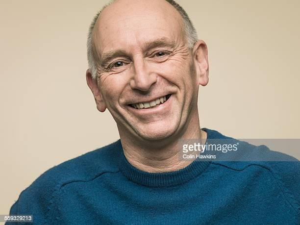 Portrait of happy man