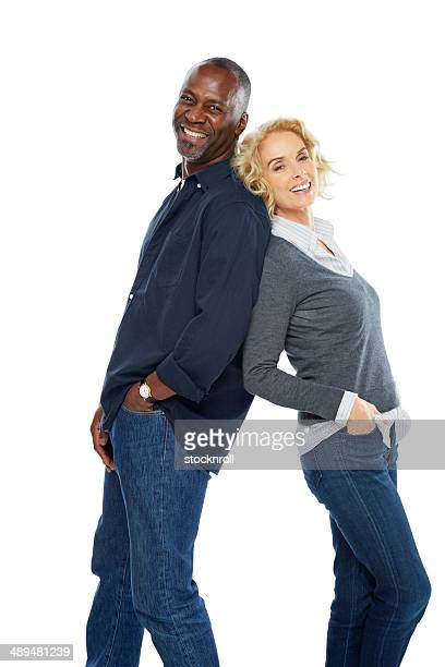 Portrait of happy mature couple standing together