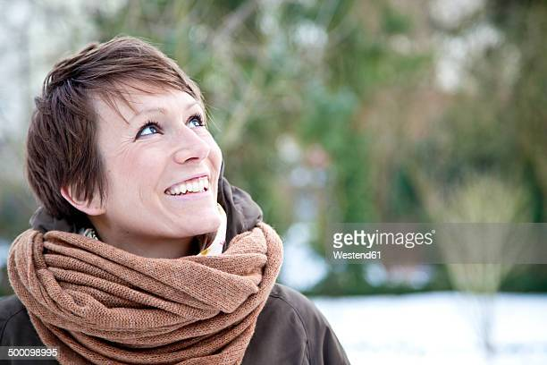 Portrait of happy woman