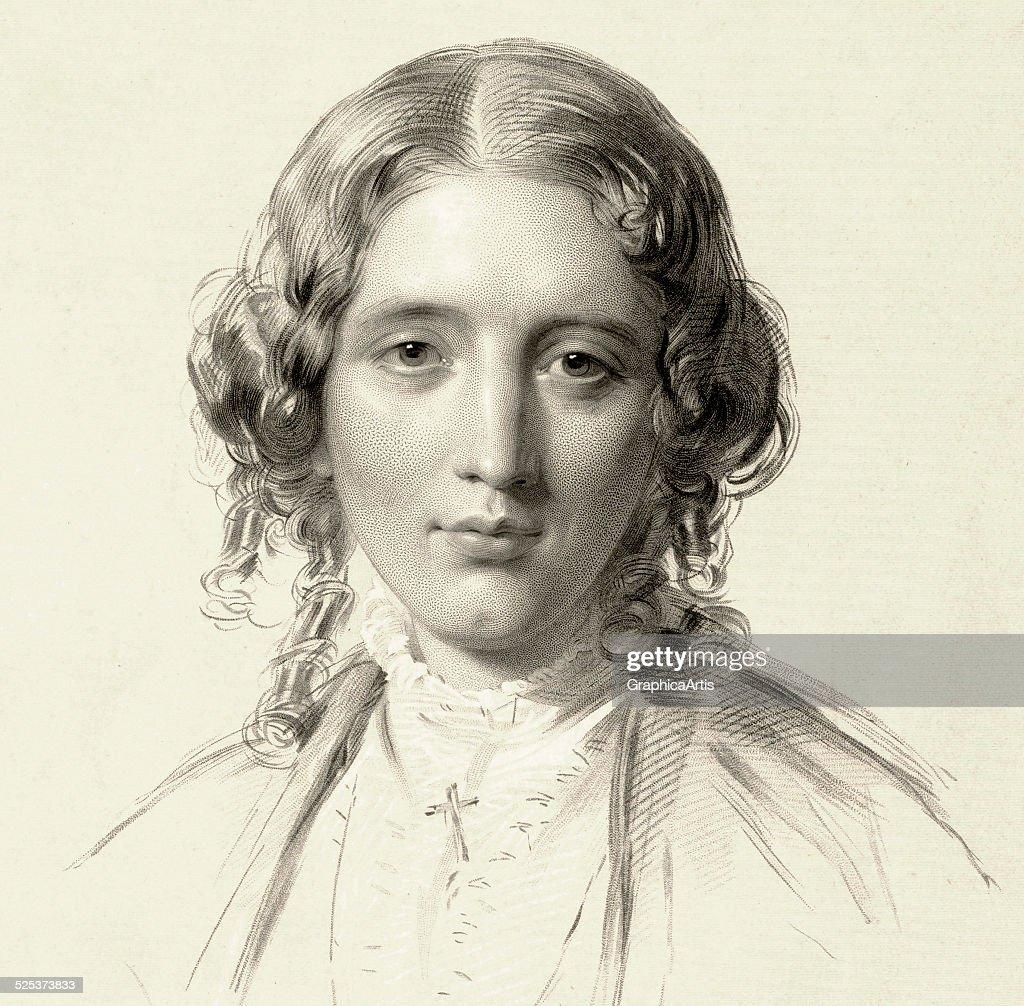 Harriet Beecher Stowe Portrait : News Photo