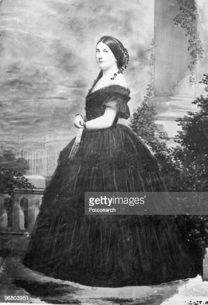 Portrait of Harriet Lane circa 1860s