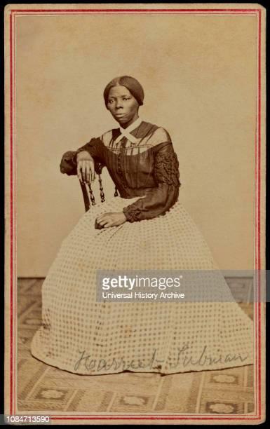 Portrait of Harriet Tubman 18201913 American Abolitionist by Benjamin F Powelson Auburn New York USA 1868