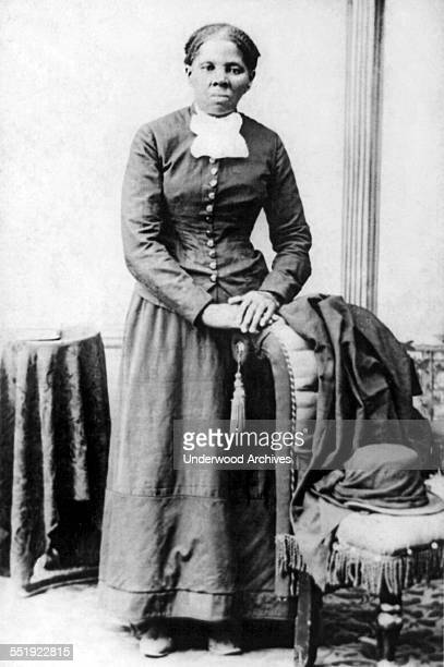 A portrait of Harriet Tubman AfricanAmerican abolitionist and a Union spy during the American Civil War circa 1870