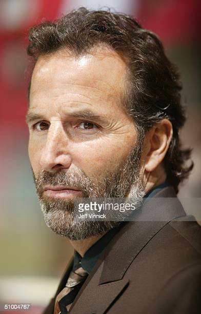 Portrait of head coach John Tortorella of Tampa Bay Lightning in Game three of the NHL Stanley Cup Finals against the Calgary Flames at the Pengrowth...