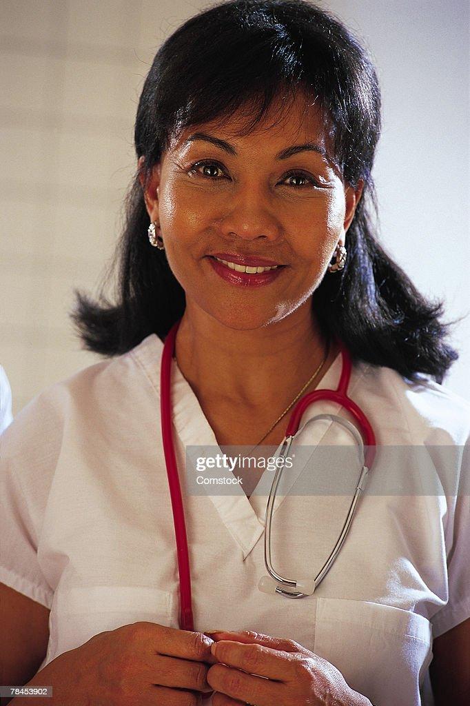 Portrait of healthcare professional : Stockfoto
