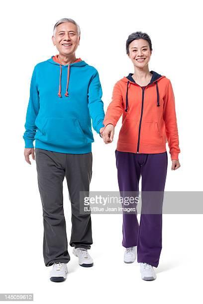 Portrait of healthy senior couple