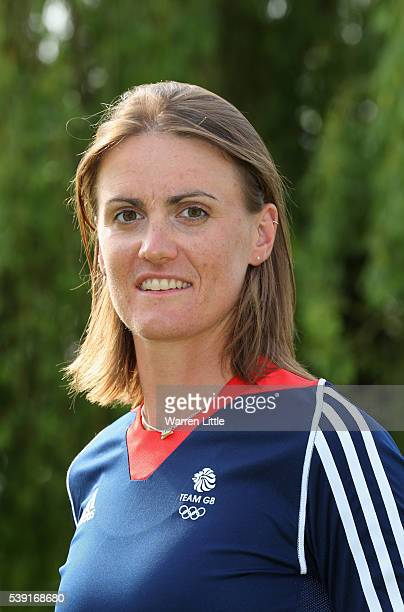A portrait of Heather Stanning of Great Britain Rowing team after the announcement of Rowing athletes named in Team GB for the Rio 2016 Olympic Games...