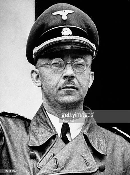 A portrait of Heinrich Himmler one of Adolf Hitler's chief lieutenants Himmler headed the Gestapo and the Schutzstaffel and established the Third...