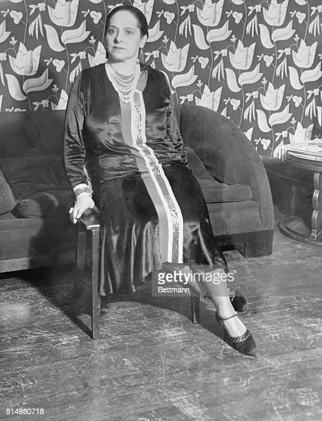 Portrait of Helena Rubenstein