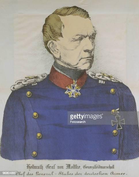 Portrait of Helmuth Graf von Moltke circa 1870s