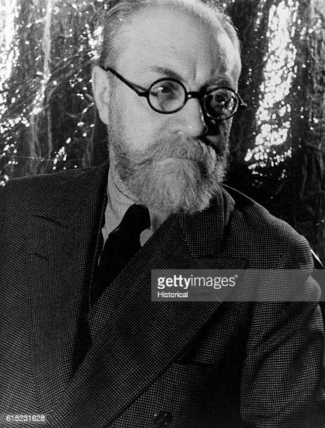 Portrait of Henri Matisse , French painter and sculptor whose works include the mural Dance II at the Barnes Foundation in Pennsylvania.