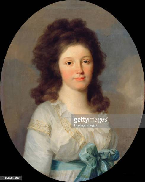 Portrait of Henriette Gräfin von Egloffstein 1795 Found in the Collection of Staatliche Museen Berlin Artist Tischbein Johann Friedrich August
