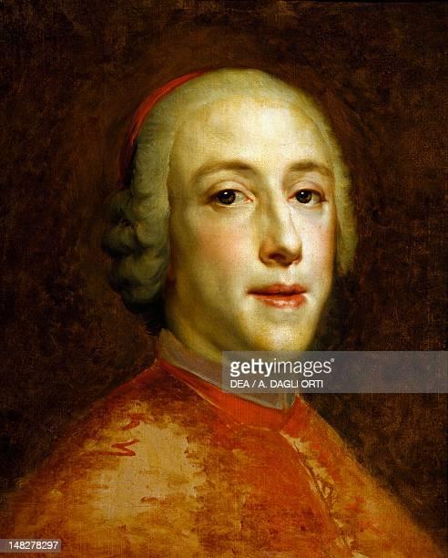 Portrait of Henry Benedict Marie Clement Edward Stuart Cardinal York ca 1756 by Anton Raphael Mengs oil on canvas 44x35 cm Montpellier Musée Fabre