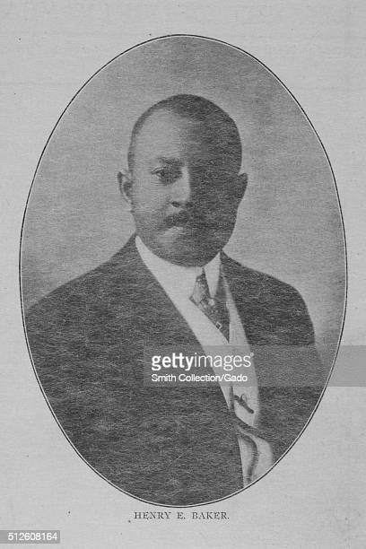 Portrait of Henry E Baker, he was the third African American to be admitted to the United States Naval Academy, he later worked his way up to Second...