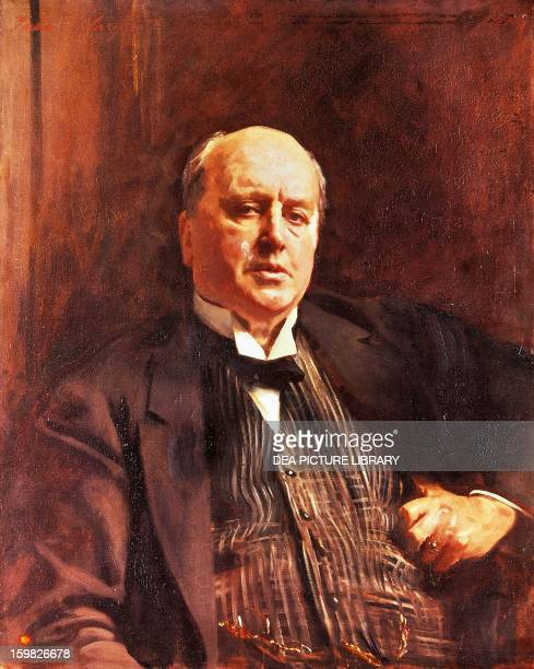 Portrait of Henry James American writer Painted in 1913 by John Singer Sargent oil on canvas 85x67 cm London National Portrait Gallery