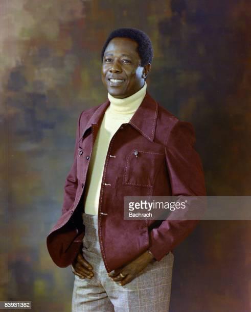 Portrait of Henry Louis 'Hank' Aaron , the former record holder for baseball's home runs , Atlanta, 1974.