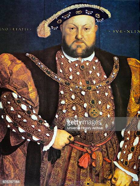 Portrait of Henry VIII of England King of England and Ireland Dated 16th Century