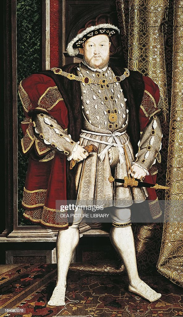 Portrait of Henry VIII Tudor... : News Photo