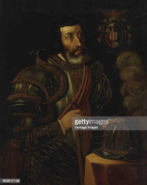 Portrait of Hernán Cortés Found in the Collection of Ayuntamiento de la Ciudad de México