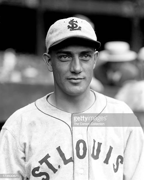 A portrait of Herschel E Bennett of the St Louis Browns in 1927