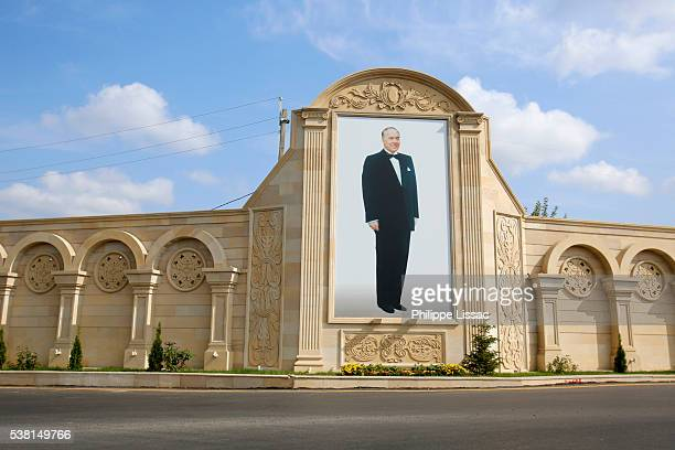 portrait of heydar aliyev - heydar aliyev stock pictures, royalty-free photos & images