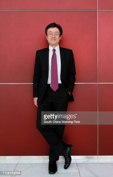 Portrait of Hidemitsu Otsuka Managing Director of Bank of Tokyo Mitsubishi UFJ Hong Kong Branch Pictured in the lobby of AIA Building in Central...