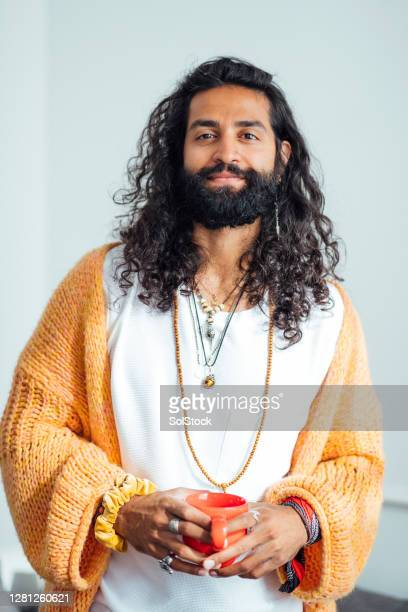 portrait of hipster dude - eccentric stock pictures, royalty-free photos & images