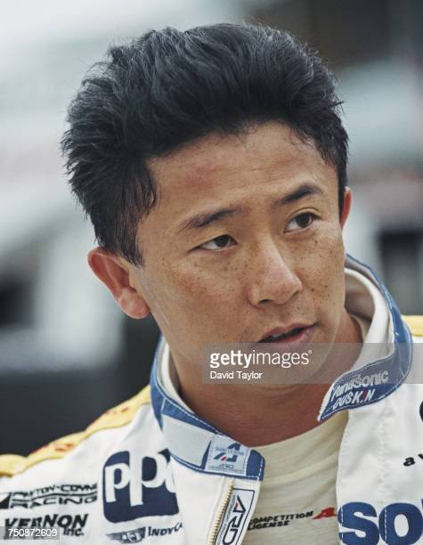 Portrait of Hiro Matsushita of Japan, driver of the Payton/Coyne Racing Panasonic Lola T96/00 Ford Cosworth during the Championship Auto Racing Teams...