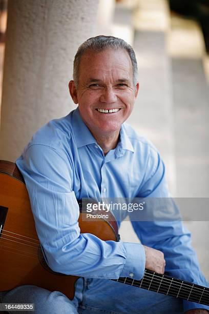 Portrait of Hispanic Senior man smiling