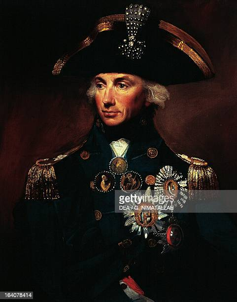 Portrait of Horatio Nelson British admiral Painting by Lemuel Francis Abbott LondonGreenwich National Maritime Museum