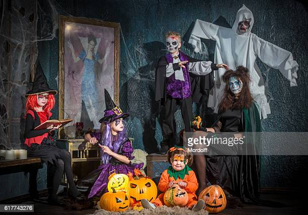Portrait Of Horrible Family