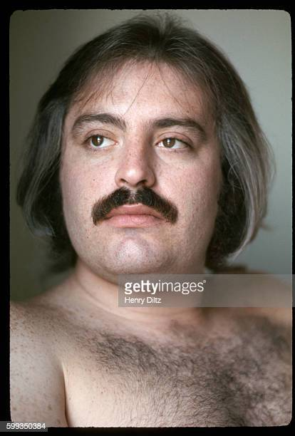 A portrait of Howard Kaylan founding member of the 1960s folkrock band The Turtles after they became popular for their number 1 hit Happy Together in...