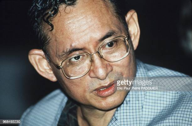 Portrait of HRH The King of Thailand,King Bhumibol Adulyadej.