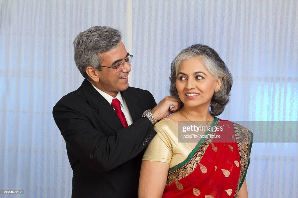 Portrait of husband and wife : Stock Photo