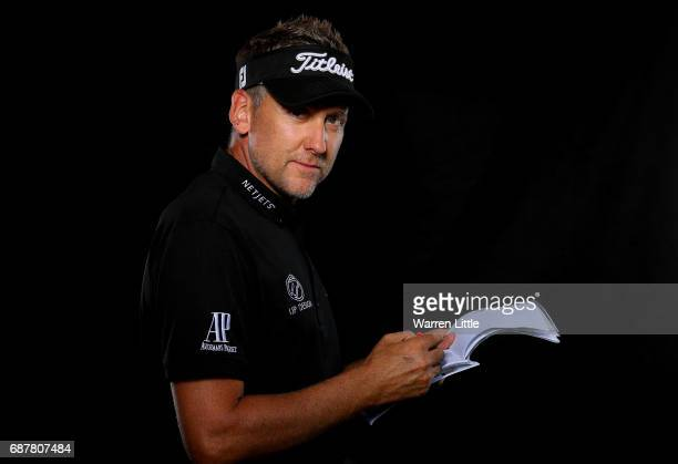 A portrait of Ian Poulter of England ahead of the BMW PGA Championships on the West Course at Wentworth on May 24 2017 in Virginia Water England