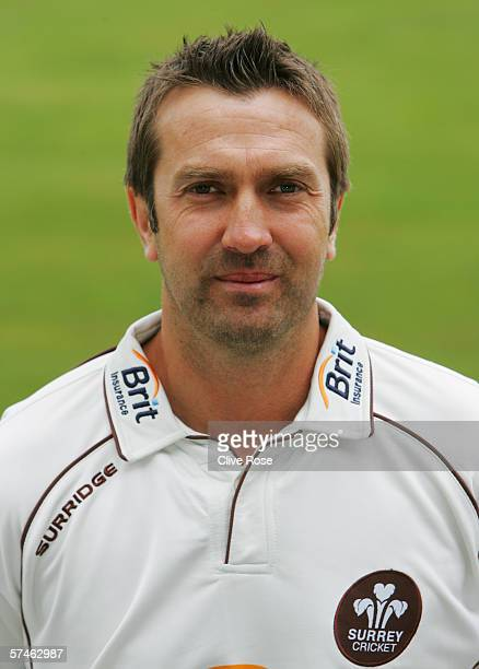 Portrait of Ian Salisbury of Surrey taken during the Surrey County Cricket Club Photocall at the Brit Oval on April 12, 2006 in London, England.