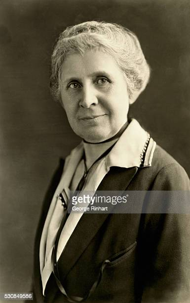 Portrait of Ida Tarbell American author and editor Undated photograph