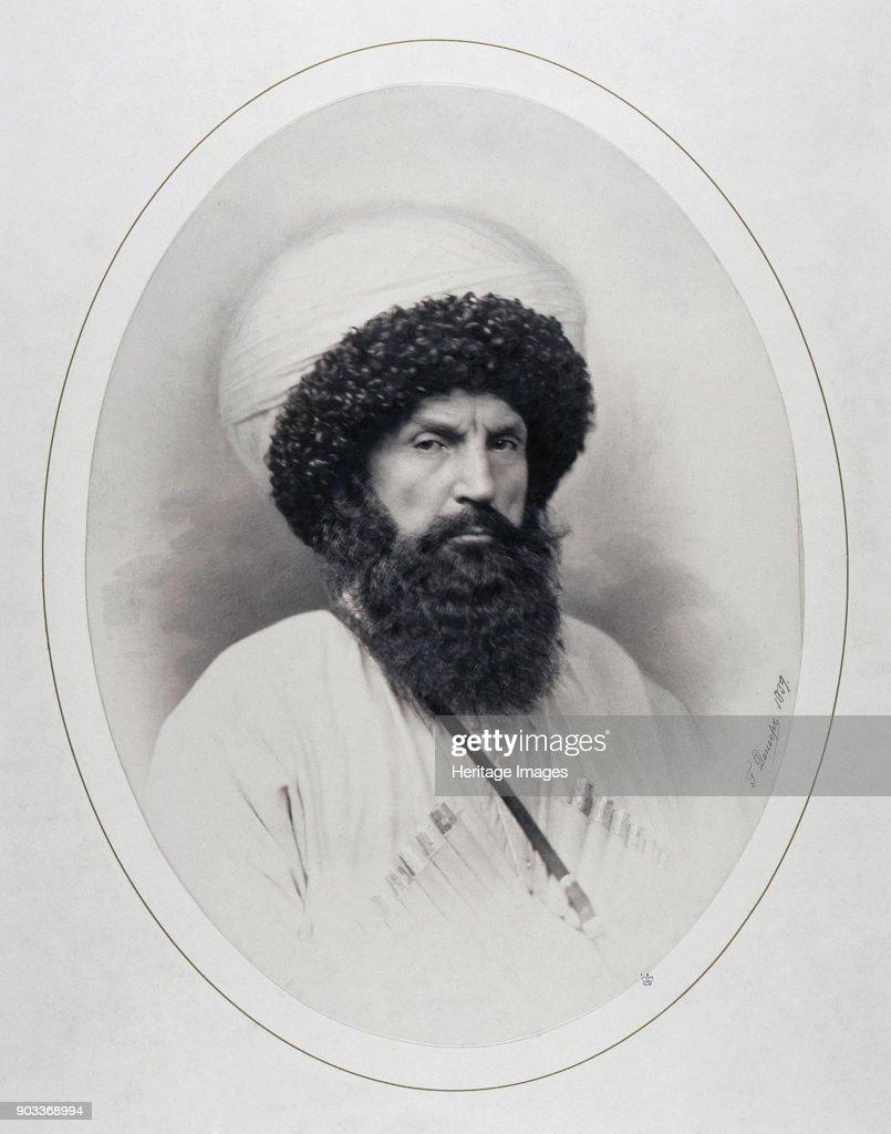 Portrait Of Imam Shamil (1797-1871) : News Photo