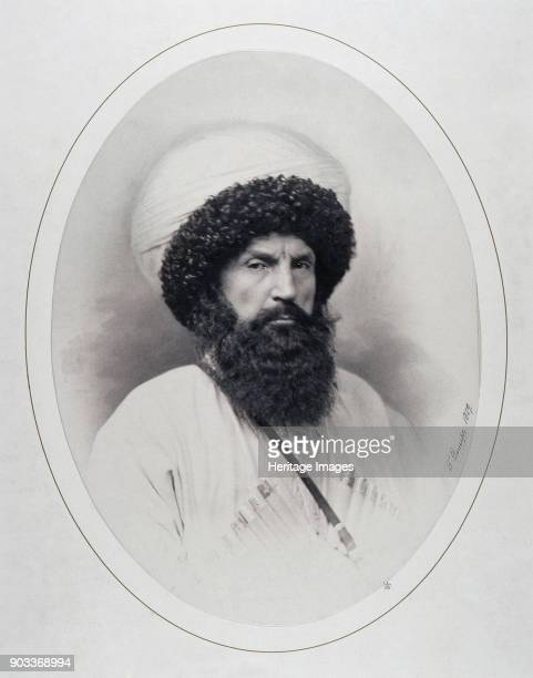 Portrait of Imam Shamil Found in the Collection of State Hermitage St Petersburg