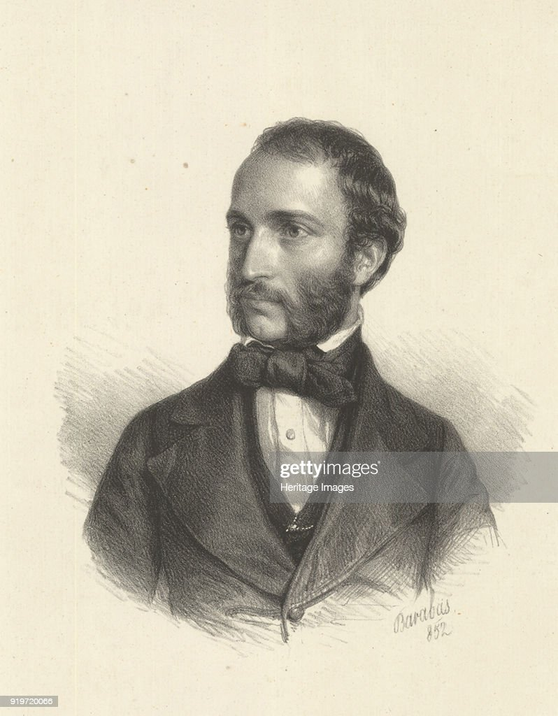 Portrait Of Imre Székely (1823-1887) : News Photo