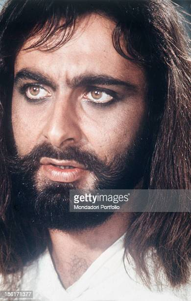 Portrait of Indian actor Kabir Bedi in the TV miniseries Sandokan Germany 1976