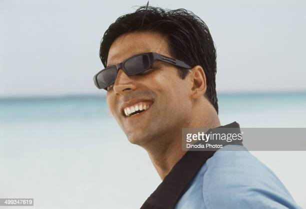 2004 Portrait of Indian film actor Akshay Kumar