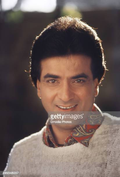 1990 Portrait of Indian film actor Jitendra